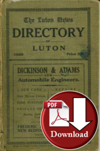 Directory of Luton 1925 (Digital Download)