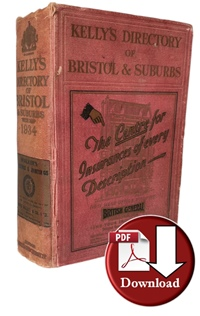 Kelly's Directory of Bristol & Suburbs 1934 (Digital Download)