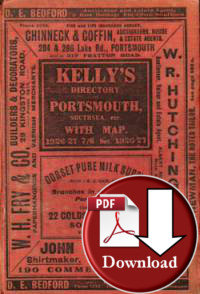 Kelly's Directory of Portsmouth, Southsea &c, 1926-27 - Download
