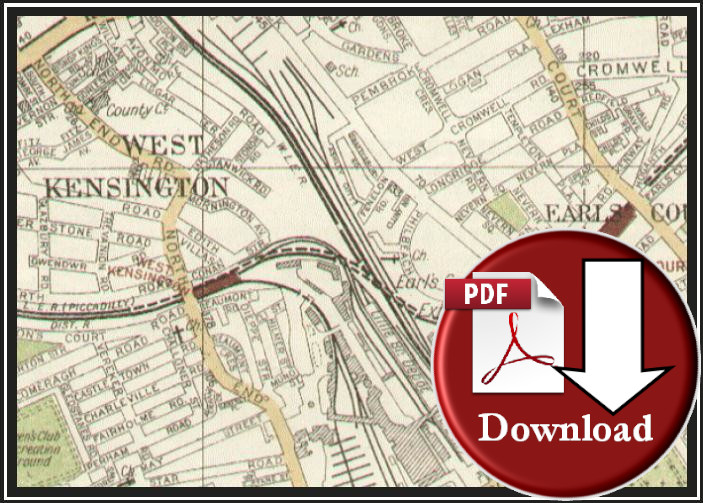 The Authentic Map Directory of London & Suburbs 1924 (Digital Download)