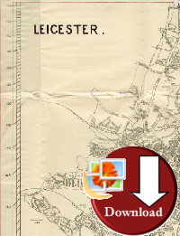 Leicestershire Map 1933 - Download