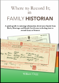 Where to Record it in Family Historian V6