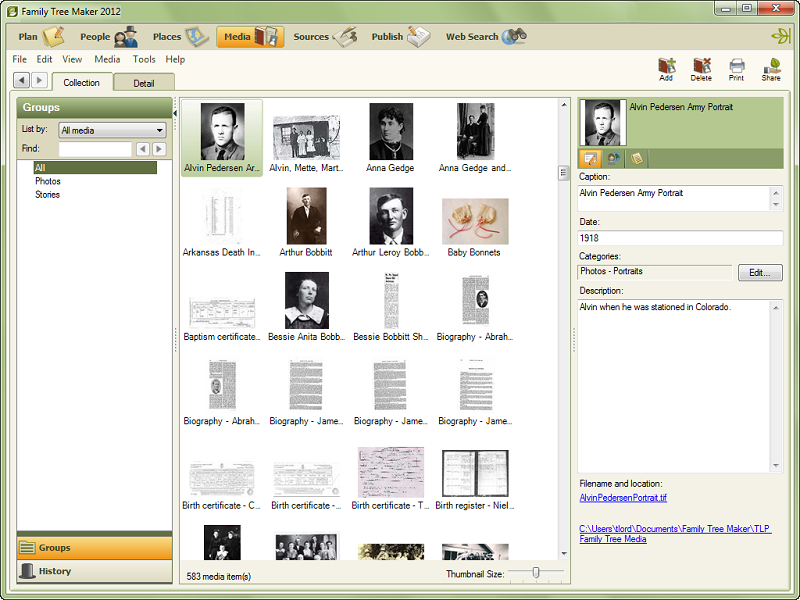 Best Free Genealogy or Family Tree Software  Gizmos Freeware